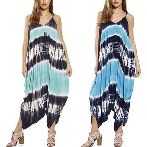 Dresses & Skirts - 2 Colors In❣️Boho Tie Dye Loose Fit Overall, S-3X